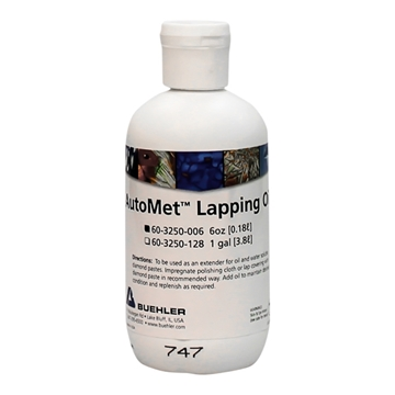 Picture of AutoMet Lapping Oil, 6oz