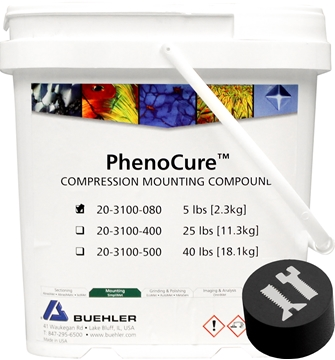 Picture of PhenoCure Powder, Black, 5lb [2.3kg]