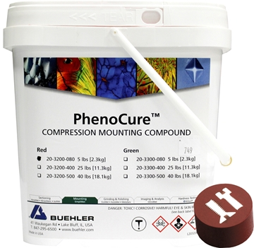 Picture of PhenoCure Powder, Red, 5lb [2.3kg]