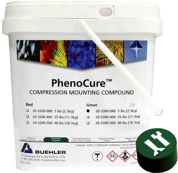 Picture of PhenoCure Powder, Green, 5lb [2.3kg]
