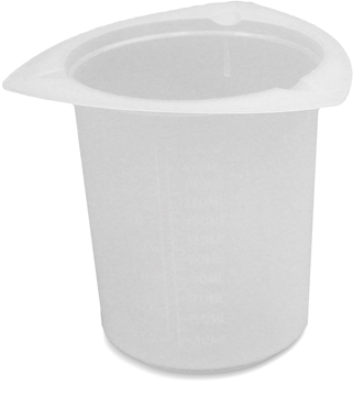 Picture of Plastic Graduated Cups, 8.5oz [250mL]