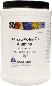 Picture of MicroPolish II Alumina Powder, 0.3µm, 1lb