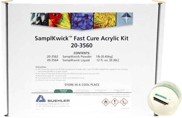 Picture of SamplKwick Fast Cure Acrylic Kit