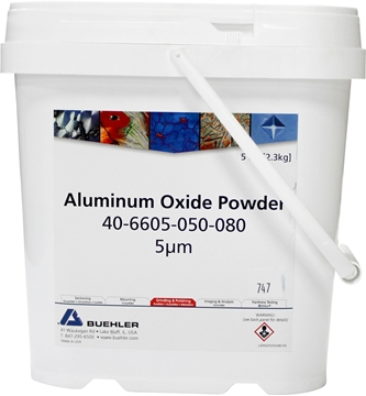 Picture of Aluminum Oxide Powder, 5µm, 5lb