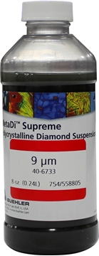Picture of Dye-Free MetaDi Supreme, Poly, 9µm, 8oz