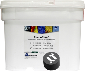 Picture of PhenoCure Powder, Black, 40lb [18.1kg]