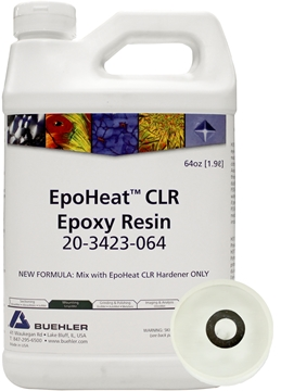 Picture of EpoHeat CLR Resin, 64oz [1.9L]