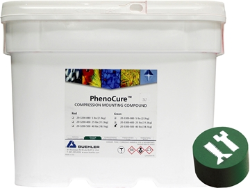 Picture of PhenoCure Powder, Green, 40lb [18.1kg]