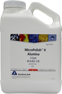 Picture of MicroPolish II Alumina Suspension, 0.3µm, 1 gal
